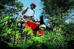 Kantenschneider für die Rasenpflege