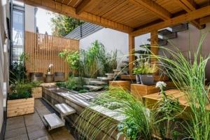 Terrassengestaltung Modern
